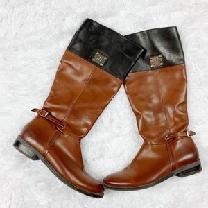 TOMMY HILFIGER Riding Boots Size 8.5 M